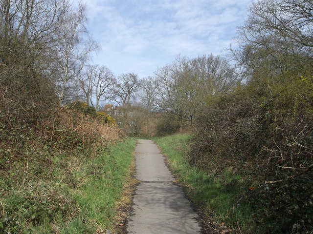 Path to Highlands Heath, Putney Heath