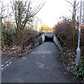 SU1284 : Cycle route underpass, Great Western Way, Swindon by Jaggery