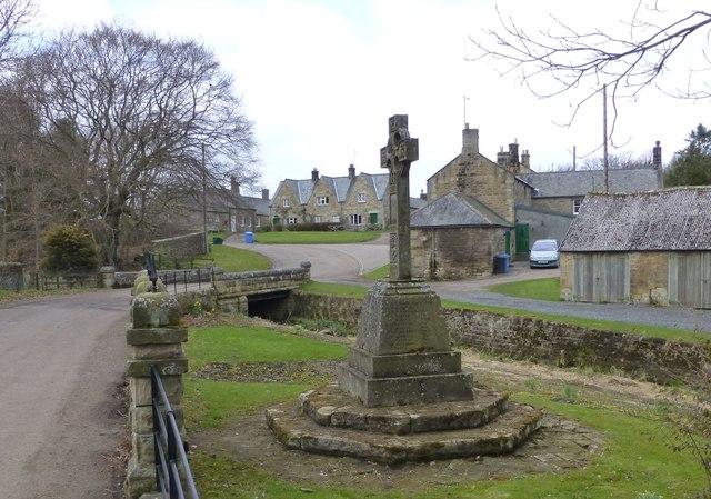 War memorial at Netherwitton