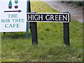 TM2899 : High Green sign by Adrian Cable