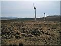 NG3445 : Windfarm moorland by Richard Dorrell