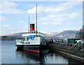 NS3882 : PS Maid of the Loch by Thomas Nugent