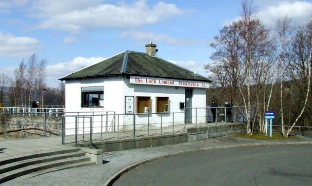 The Loch Lomond Steamship Company building