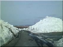 SE1767 : Snowy scene on Pateley Moor by Gordon Hatton