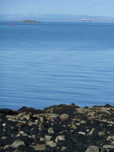 View northwards from Holy Island