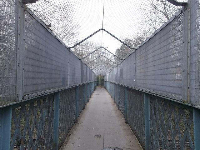 Footbridge near Keswick Road