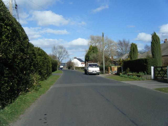 Brereton Heath Lane looking east