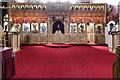 TQ3189 : St John the Baptist, Wightman Road - Iconostasis by John Salmon