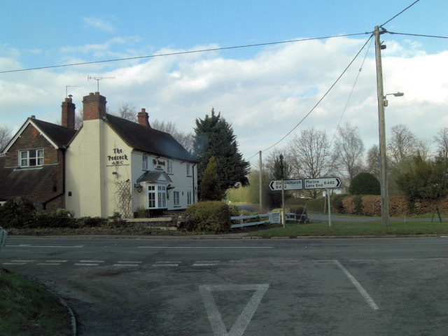 The Peacock at Bolter End crossroads