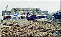 TR3140 : Dover Marine station, 1990 by Ben Brooksbank