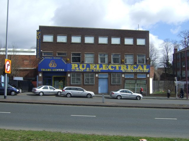Electrical Wholesalers on Soho Hill