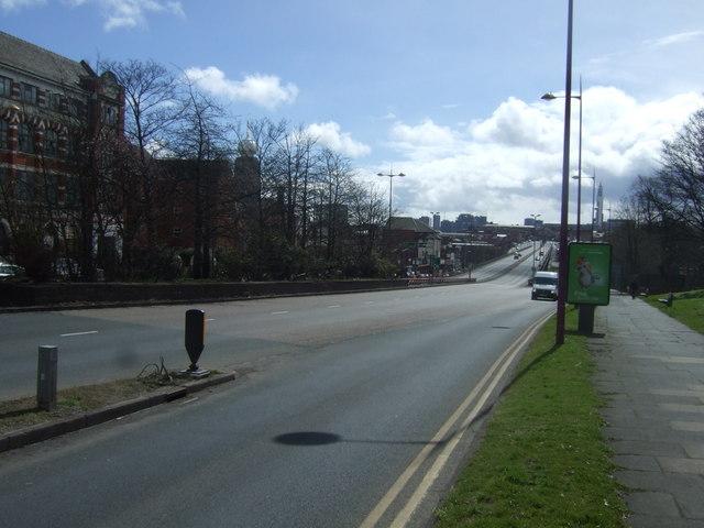 Soho Hill (A41), Birmingham