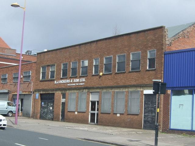 Factory on Soho Hill, Gib Heath