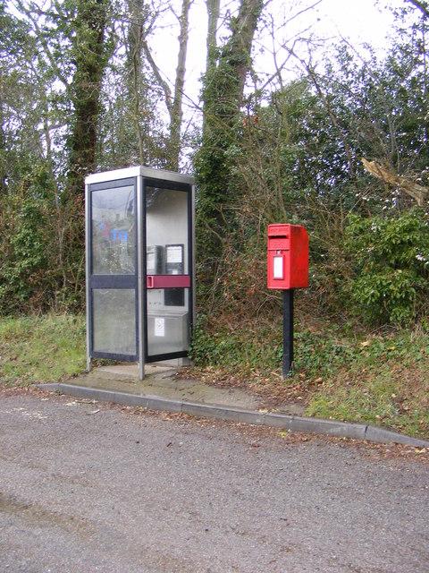 Telephone Box & Norwich Road Postbox