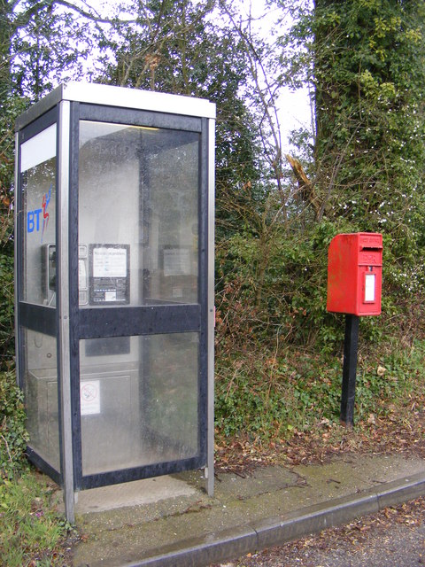 Telephone Box & Norwich Road Postbox