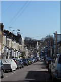TQ2774 : Mallinson Road, looking east by Andrew Wilson