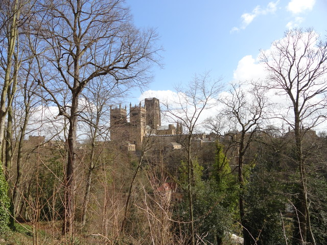 View of Durham Cathedral from South Street