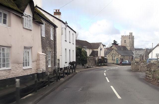 Axmouth village