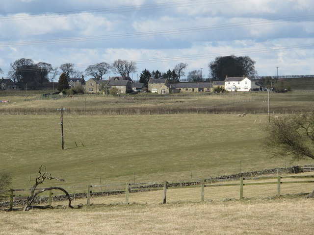 Farmland south of Halton Shields