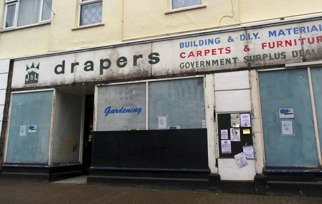 'Drapers', former hardware store, Combe Martin