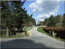 SK0117 : Entrance to Birches Valley Forest Centre by JThomas