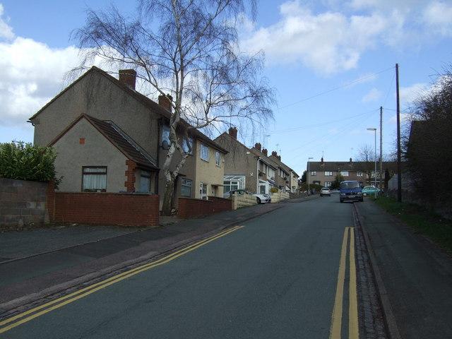 Hilsop Road, Rugeley