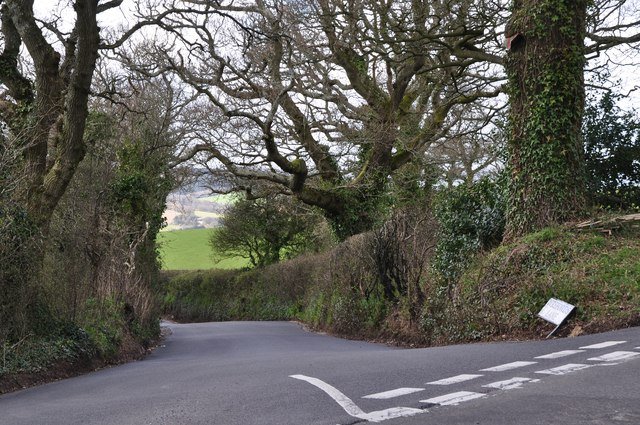 Exeter District : Wreford's Lane