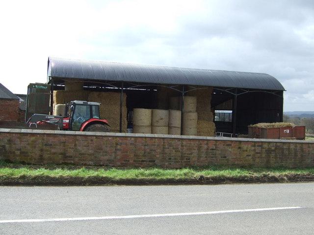 Farm building, Slate House Farm