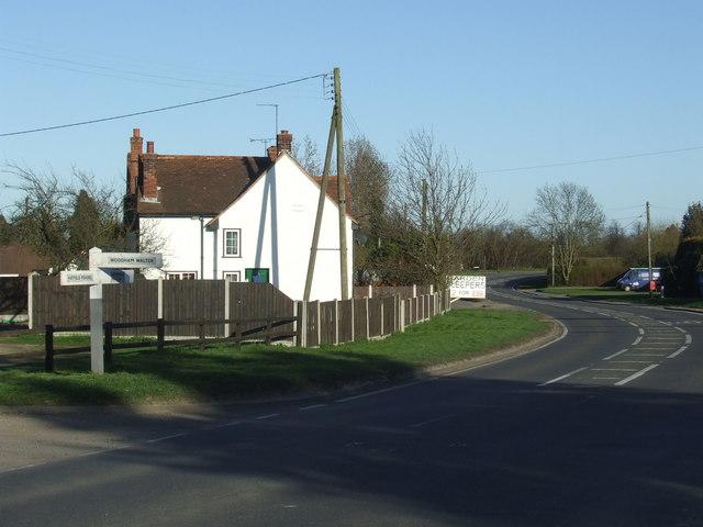 B1019 road near Ulting, Essex