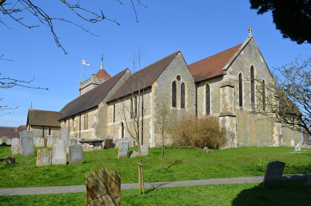 St Peter's church, Bexhill