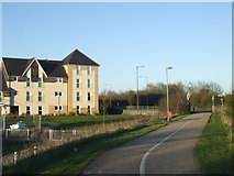TL7206 : Shared path, Chelmsford by Malc McDonald