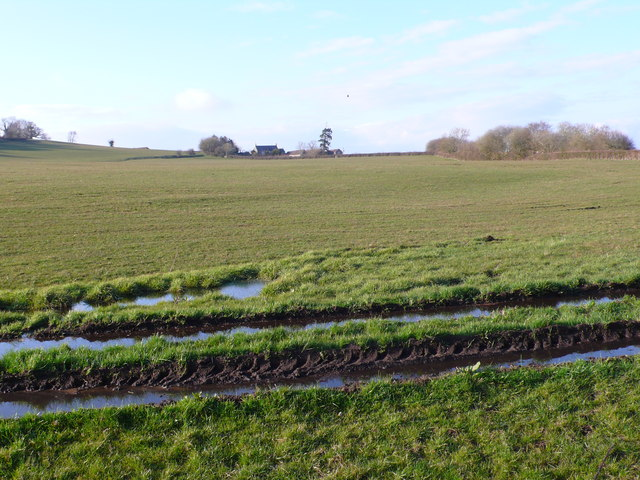 Waterlogged Fields at New Barn Farm