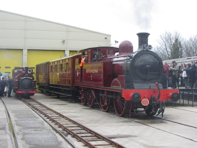 Steam at London Transport Museum's Acton Depot