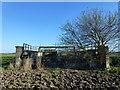 TF2715 : Old railway bridge over The South Holland Main Drain near Cowbit by Richard Humphrey