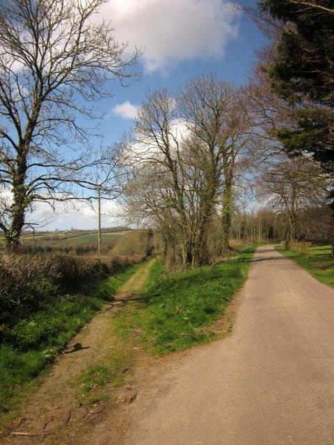 Footpath at Heywood