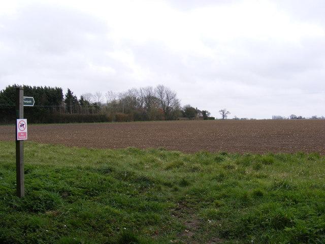 Footpath off Redgrave Road