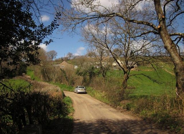 Lane at Saul's Bridge