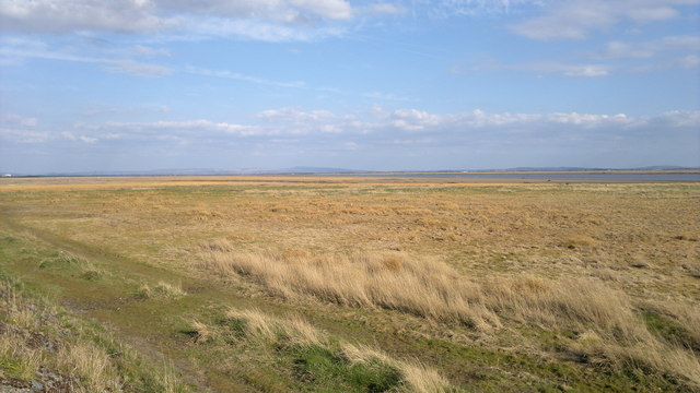 The Pennines from the Ribble estuary