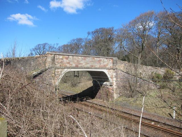 Small bridge at Fortoun Bank