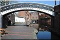 SP0686 : Footbridge in Gas Basin by Philip Halling