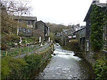 NY3704 : Stock Ghyll, Ambleside by Kenneth  Allen