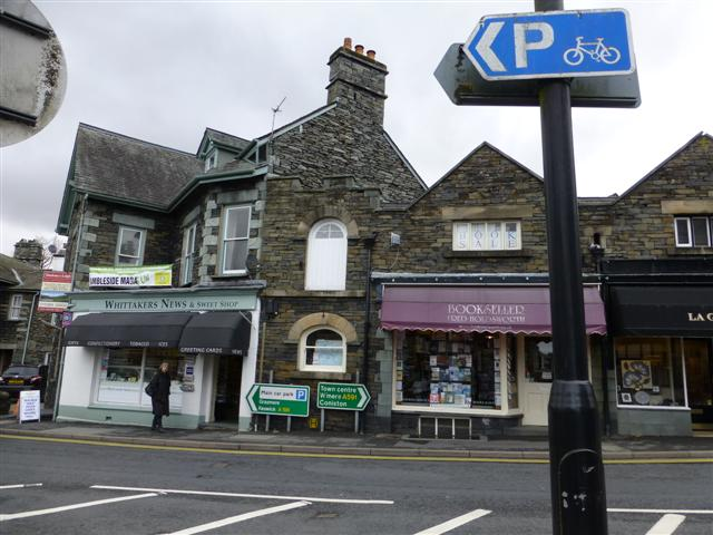 Whittakers News & Sweet Shop, Ambleside