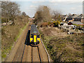 SJ5187 : Sprinter Train Approaching Widnes by David Dixon