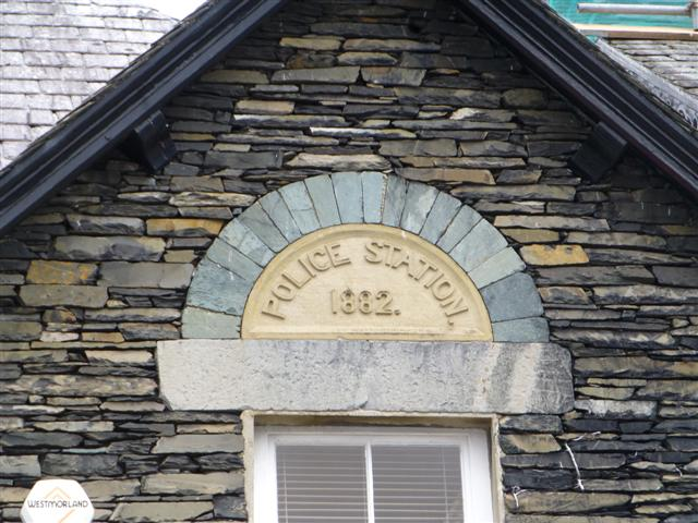 Police Station plaque, Ambleside