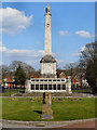 SJ5186 : Widnes War Memorial, Victoria Park by David Dixon