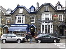 NY3704 : JF Martin & Co, Ambleside by Kenneth  Allen