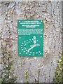 NZ1616 : Millennium Sunclock directions by Stanley Howe