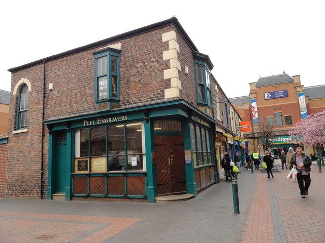 Engraver's shop, Middlesbrough