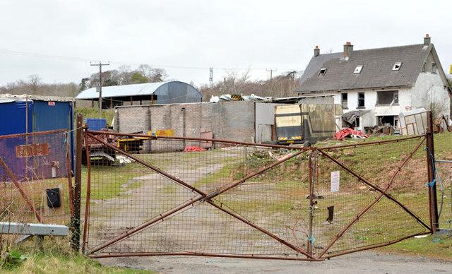 Former scrapyard, Helen's Bay (2013)