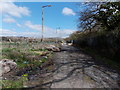 ST3487 : Boulders in Langditch Lane, Newport by Jaggery
